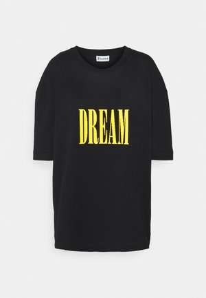 SPIRIT DREAM UNISEX - T-shirt print - black