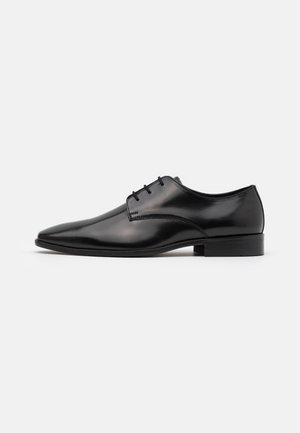 LEATHER - Derbies & Richelieus - black