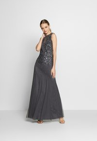 Lace & Beads - RIVIERA MAXI - Vestido de fiesta - charcoal - 1