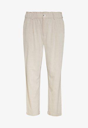 CARNANO LONG PANT - Pantalon classique - pumice stone melange