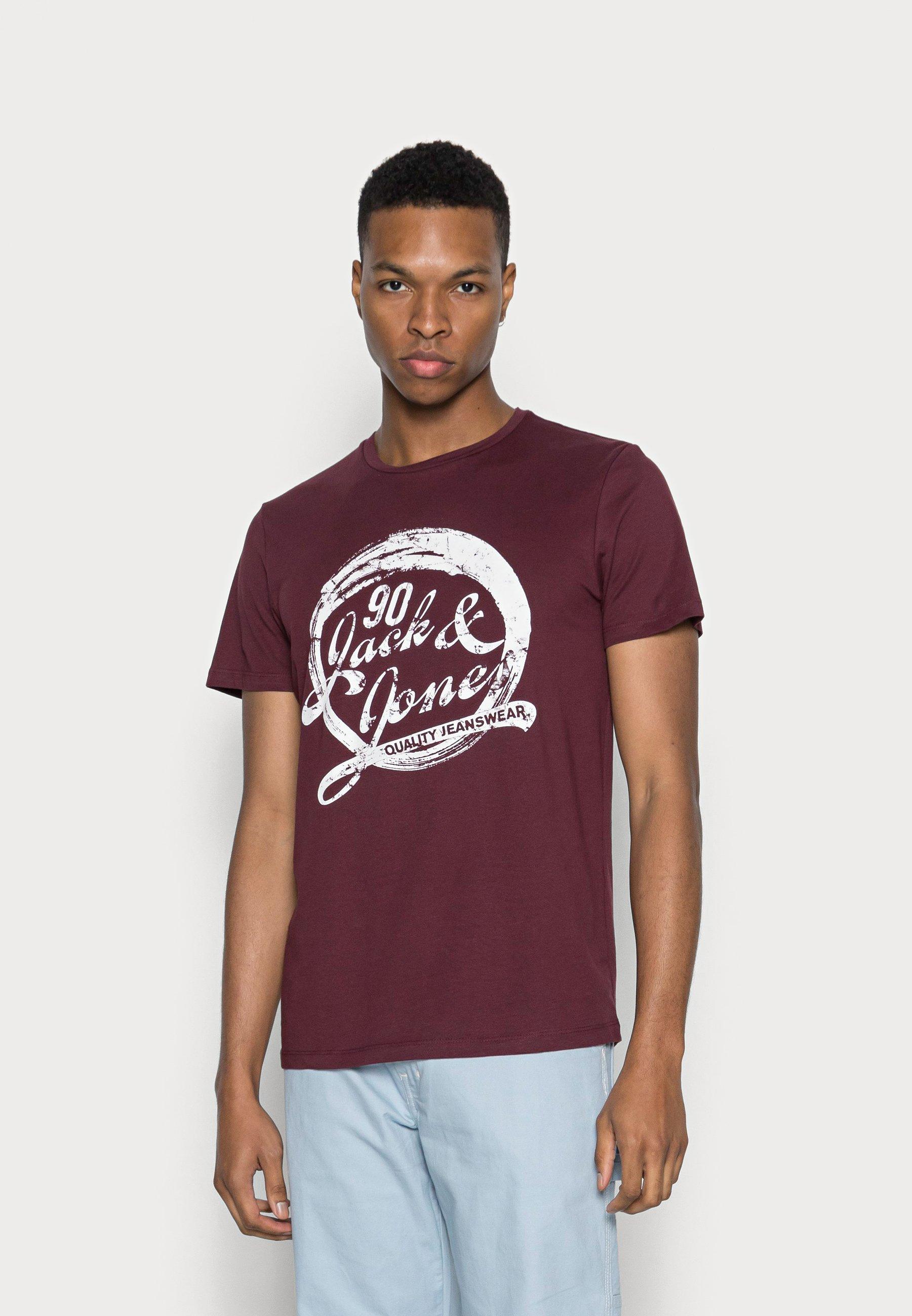 Herrer JJDENS TEE CREW NECK - T-shirts print