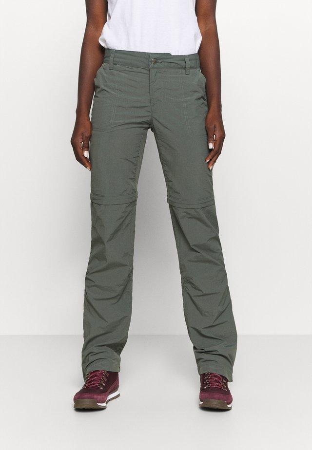 RIDGE 2.0 CONVERTIBLE PANT - Pantalones montañeros largos - grill