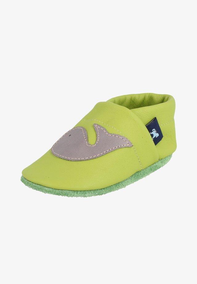First shoes - apfelgrün / grau