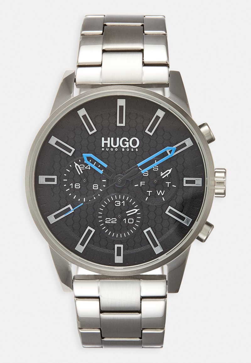 HUGO - #SEEK - Watch - silver-coloured