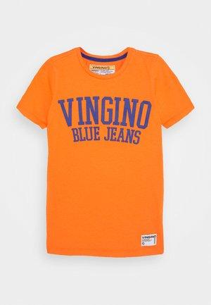 HAI - T-shirt print - grape orange