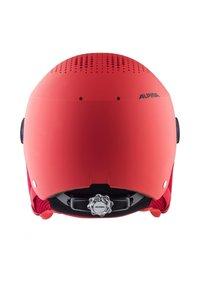 Alpina - ZUPO VISOR - Helmet - red matt - 1