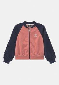 Hummel - LINE ZIP UNISEX - Training jacket - black iris - 0