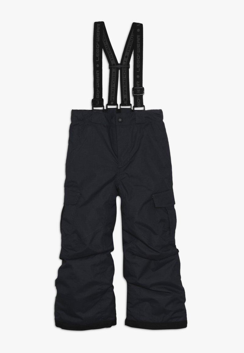 LEGO Wear - SKI PANTS - Snow pants - dark grey