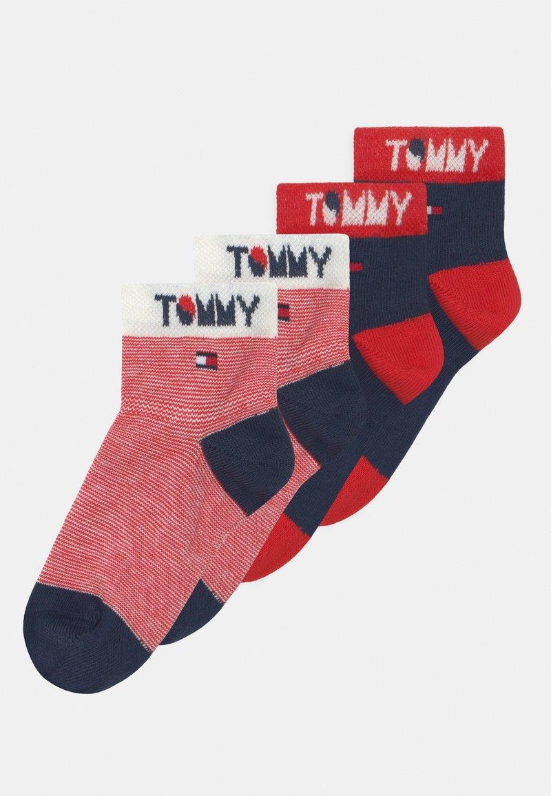 Tommy Hilfiger - WORDING 4 PACK UNISEX - Socks - dark blue