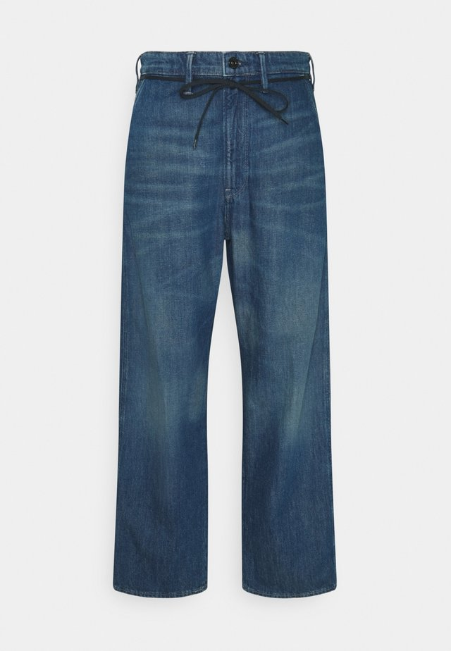 LINTELL HIGH DAD  - Jeans baggy - faded crystal lake