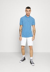 Scotch & Soda - GARMENT DYED STRETCH  - Polo shirt - infinite blue - 1
