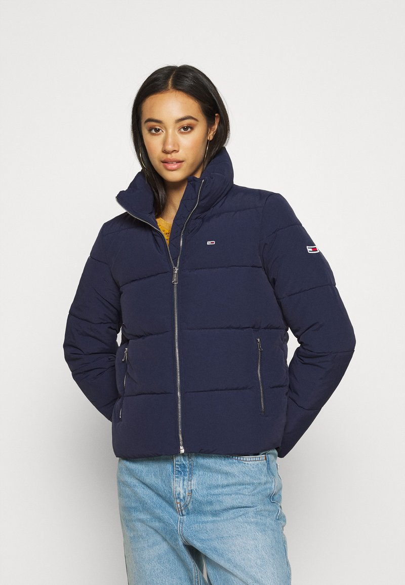 Tommy Jeans - MODERN PUFFER JACKET - Winter jacket - twilight navy