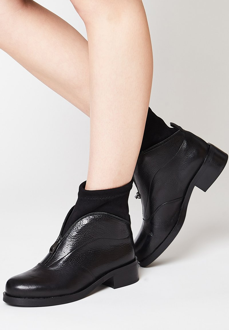 RISA - Wedge Ankle Boots - schwarz