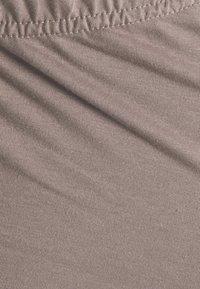 Missguided Maternity - SPLIT HEM FLARES - Trousers - brown - 2