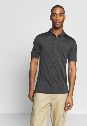 MENS SOLACE - Polo shirt - black