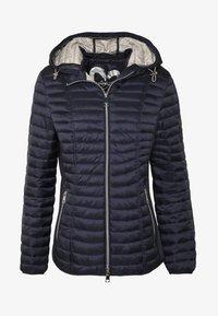 Barbara Lebek - STEPP MIT KAPUZE - Light jacket - navy - 4