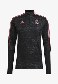 adidas Performance - REAL MADRID AOP TR TOP - Landslagströjor - black - 6