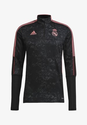 REAL MADRID AOP TR TOP - Landslagströjor - black