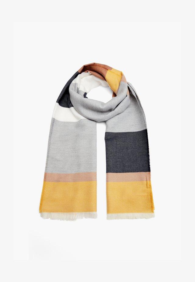 Scarf - grey stripes