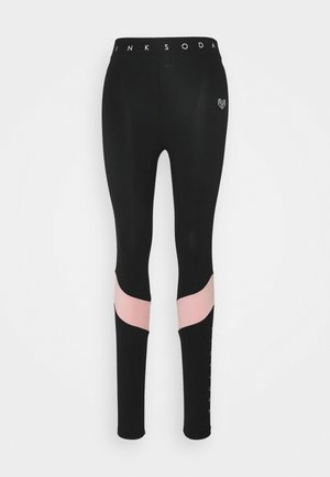 ALLURE - Collant - black/pink