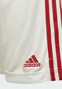 adidas Performance - MANCHESTER UNITED  HEIM - Sports shorts - white - 4