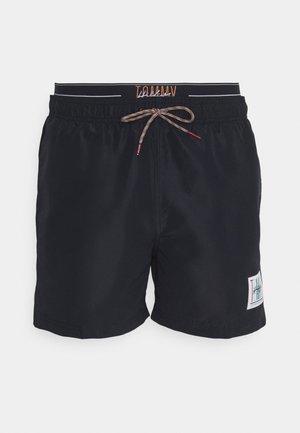 DOUBLE MEDIUM DRAWSTRING - Shorts da mare - blue