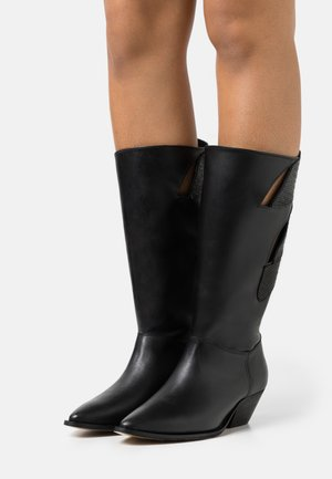 EVERY ONE OF US - Cowboy/Biker boots - black
