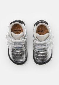 Woden - TRISTAN - Babyschoenen - silver - 3