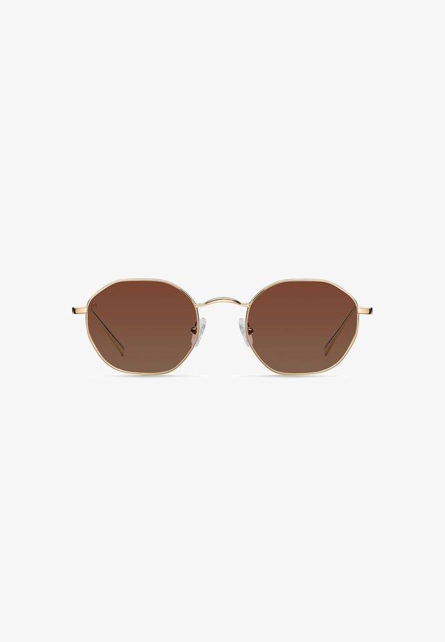 PRASLIN - Sunglasses - gold kakao