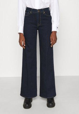 LOTTA - Široké džíny - dark blue