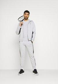 Lacoste Sport - Zip-up hoodie - silver chine/black - 1