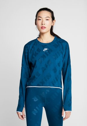 AIR MIDLAYER - Sports shirt - blue