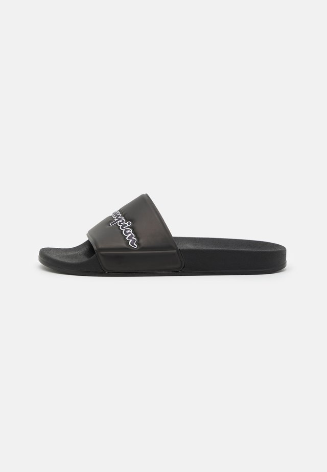 SLIDE EVO SCRIPT - Badslippers - triple black