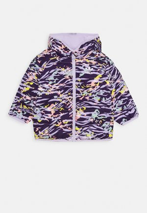 JACKET - Gewatteerde jas - deep purple/multicolor