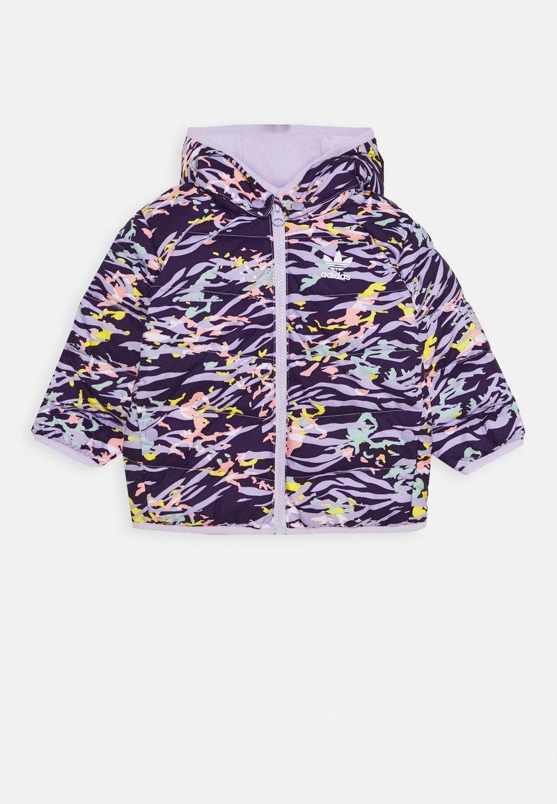 adidas Originals - JACKET - Gewatteerde jas - deep purple/multicolor