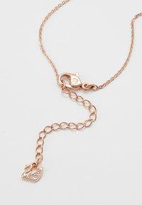 Swarovski - ICONIC SWAN PENDANT - Necklace - rosegold-coloured/black - 2