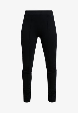 NOSTELLE HIGH - Leggings - Trousers - black/sartho blue