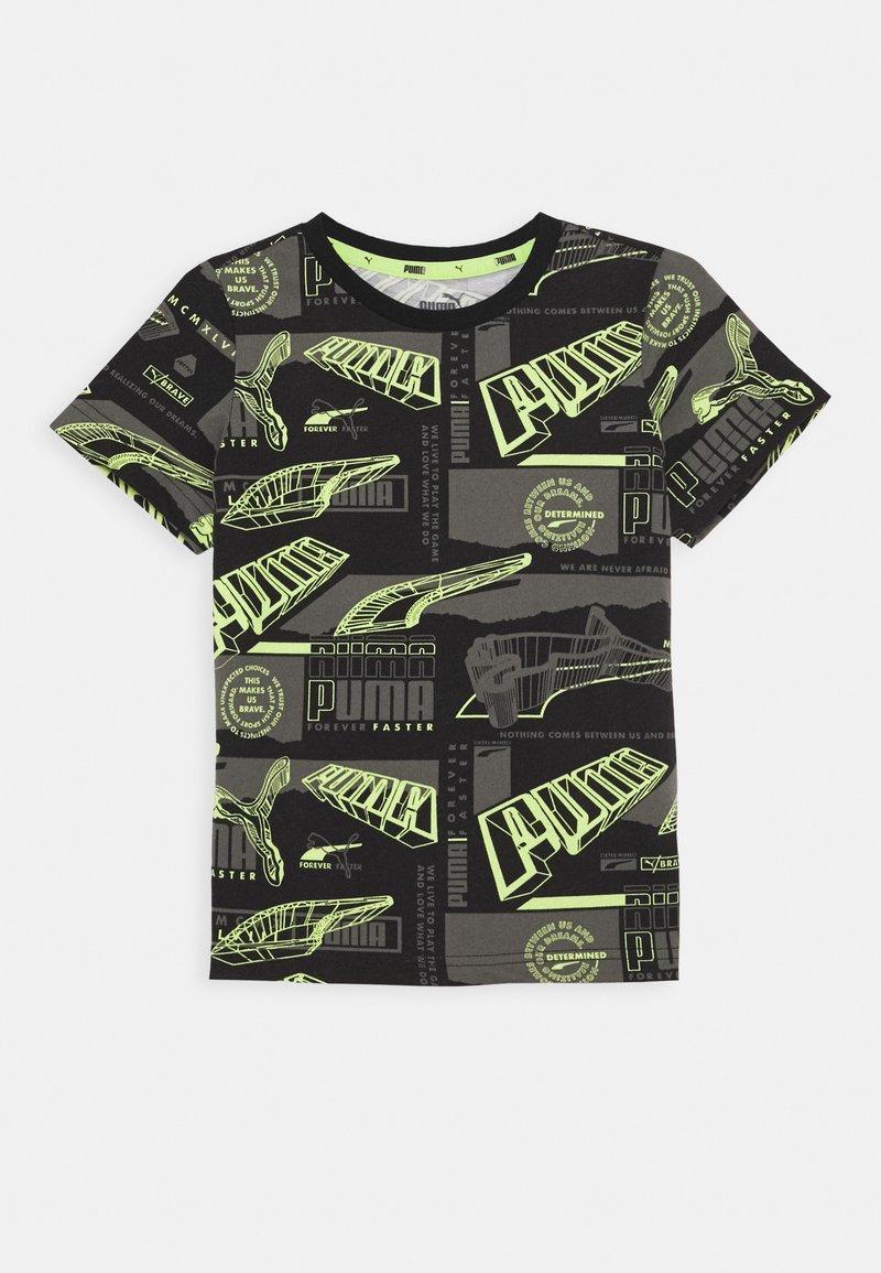 Puma - ALPHA TEE - Camiseta estampada - multicoloured