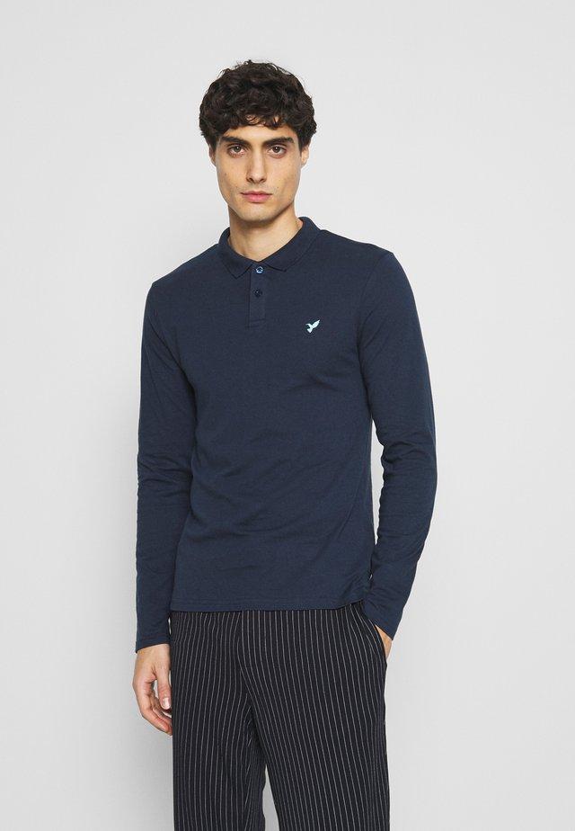 Polo shirt - dark blue/mint