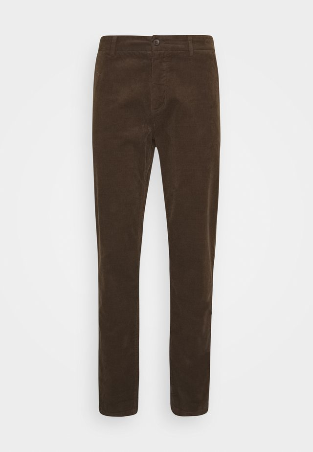 CORD TROUSERS - Bukse - brown