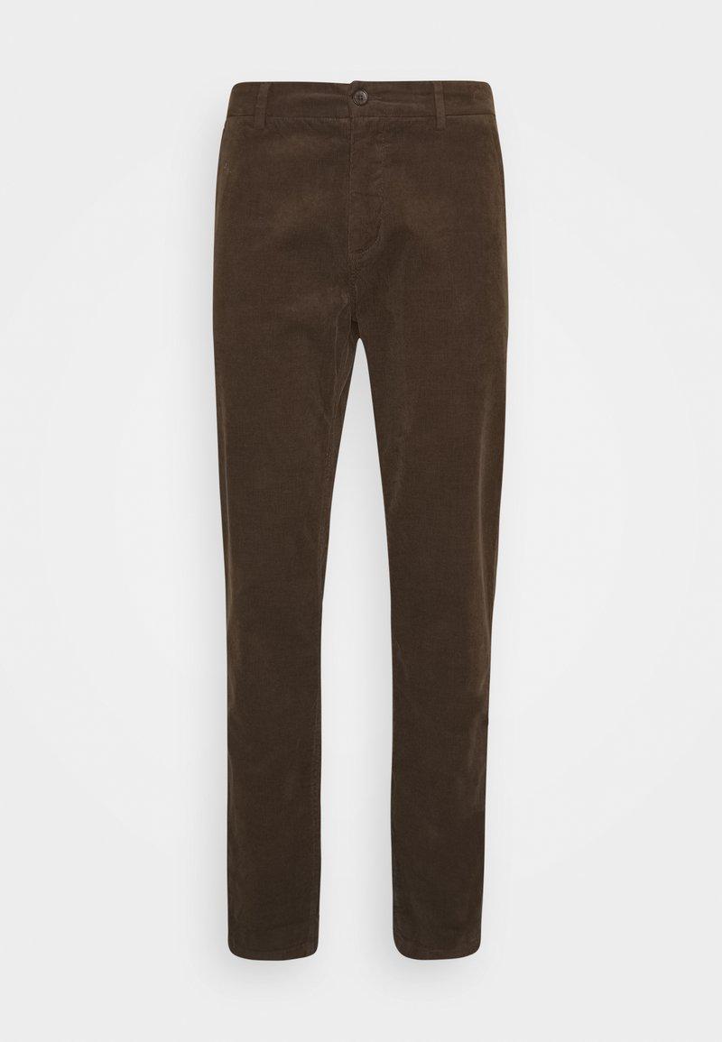 Lindbergh - CORD TROUSERS - Spodnie materiałowe - brown