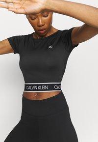 Calvin Klein Performance - T-shirt print - black - 3