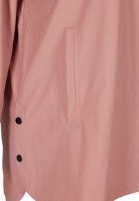 Zizzi - Waterproof jacket - rose - 5