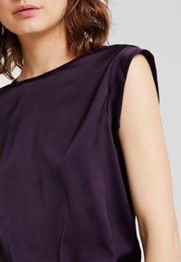 Opus - FABIOLE - Blouse - dark violet - 5