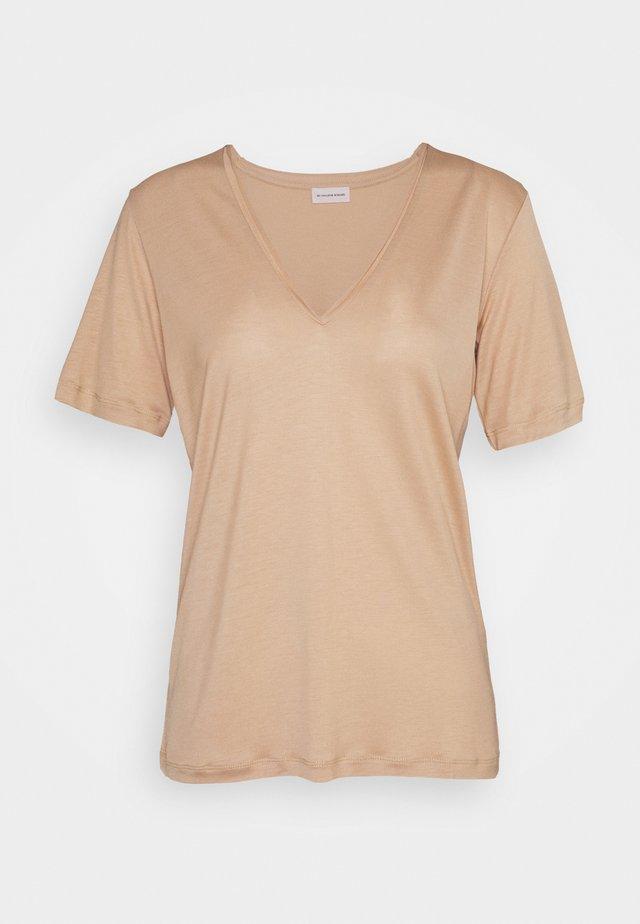 ANEILIA - Basic T-shirt - tan