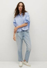 Mango - Straight leg jeans - light blue - 1