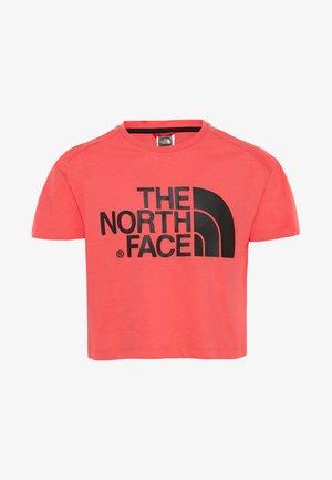 CROPPED - Print T-shirt - pink