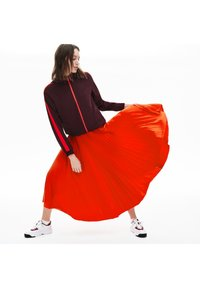 Lacoste - PLEATED SKIRT-JF5455 - Spódnica trapezowa - rouge - 1