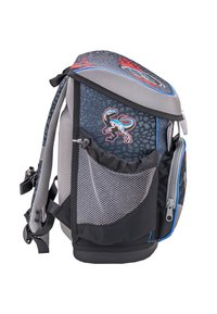 Belmil - SET - School bag - mottled black - 4