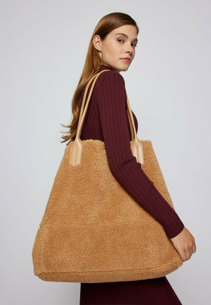 ELLEN  - Tote bag - light brown